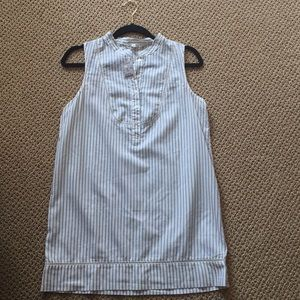 J. Crew sleeveless tunic size XS new with tags!